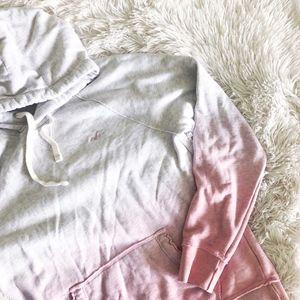 HOLSTER MEN'S pink ombre unisex hoodie